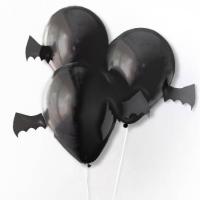"""Дизайнерские шары """"Летучие мыши"""" (33 см)"""