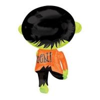 """Фольгированная фигура """"Зеленое зомби"""" (78 см)"""