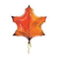 """Фольгированный шар """"Кленовый лист"""" (64 см)"""
