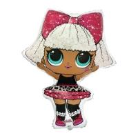 """Фольгированная фигура """"Кукла LOL - DIVA"""" (87 см)"""