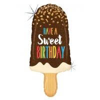 "Фольгированный шар ""Мороженое Have a sweet Birthday"" (91 см)"