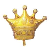 """Фольгированный шар """"Корона золотая"""" (104 см)"""