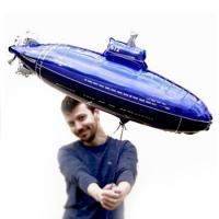 """Шар фигура """"Подводная лодка"""" (84 см)"""