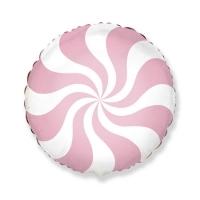 Фольгированные карамельки пастельных цветов (45 см)