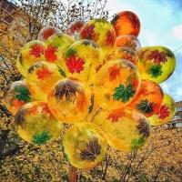 Кленовые воздушные шары (30 см)