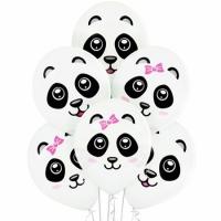 "Шар с рисунком ""Панды"" (35 см)"