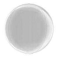 Сфера 3D Металлик Silver (38 см)