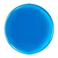 Сфера 3D Металлик Blue (38 см)
