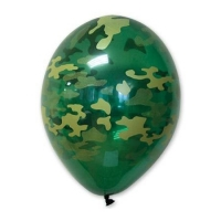 """Воздушные шары """"Камуфляж"""" (35 см)"""