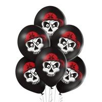 """Воздушные шары """"Череп в бандане"""" (35 см)"""
