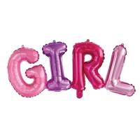 "Шары буквы ""GIRL"" (42 см)"