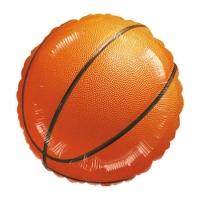 """Фольгированный круг """"Баскетбольный мяч"""" (46 см)"""