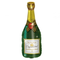 """Фольгированный шар """"Бутылка шампанского"""" (81 см)"""