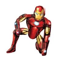 """Железный человек"" - IRON MAN. Шар Ходячая Фигура (116 см)"