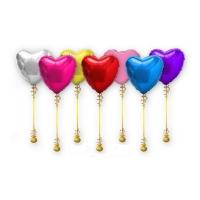 """Фольгированный шар """"Большое Сердце"""" 81см. цвет на выбор"""