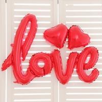 Фольгированная надпись Love (104 см)