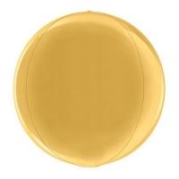 Сфера 3D Металлик Gold (38 см)