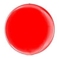 Сфера 3D Металлик Red (38 см)