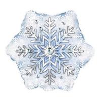 "Шар ""Новогодняя снежинка"" (51 см)"