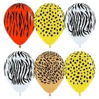 """Воздушные шары """"Джунгли"""" (30 см)"""