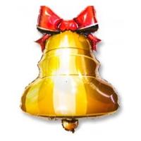 """Шар фольгированный """"Колокольчик с ленточкой"""" (55 см)"""