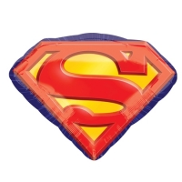 """Фольгированный шар """"Супермен эмблема"""" (66 см)"""